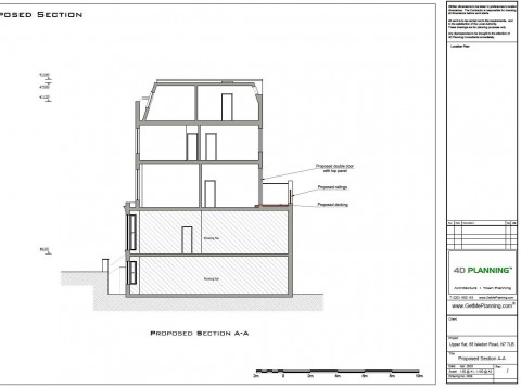 Proposed Architectural Drawings - Section