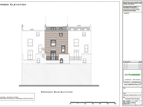 Proposed Architectural Drawings - Elevation