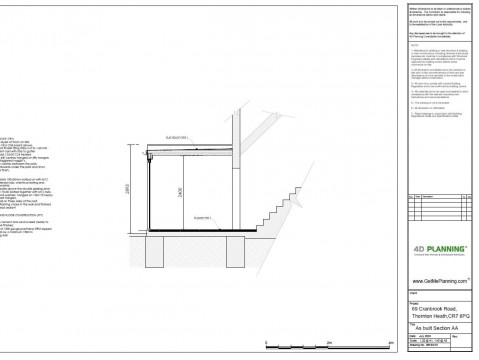 As Built Architectural Drawings