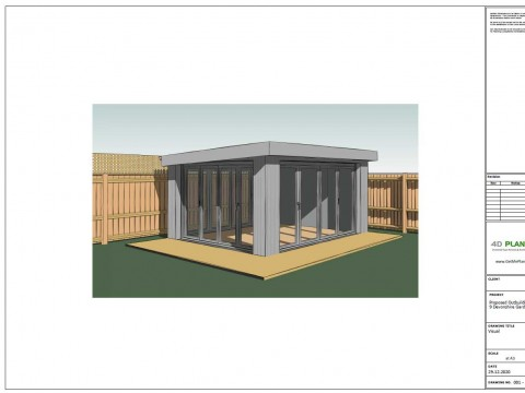Proposed Architectural Drawings - Visual