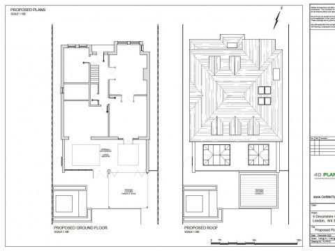 Proposed Architectural Drawings - Pergola