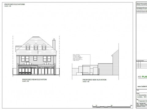 Proposed Architectural Drawings - Pergola Elevations