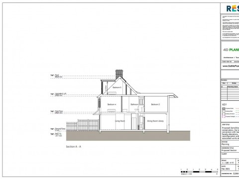 Proposed Drawings - Section