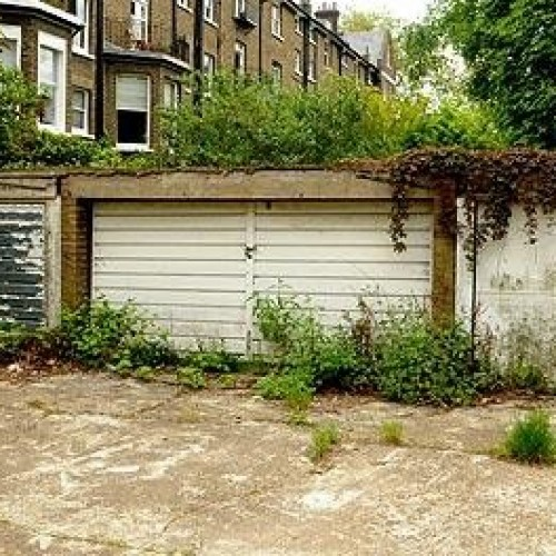 The 22,000 empty council-owned garages in London.