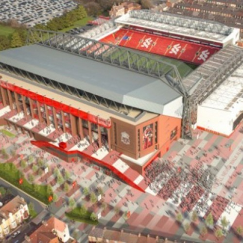 Multi-million pound regeneration of Anfield continues