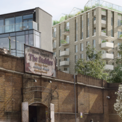 Plans submitted for new homes in Camden supermarket redevelopment