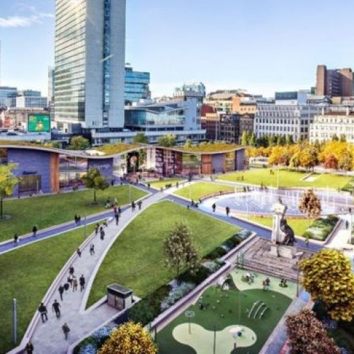 Plans submitted for Manchester Piccadilly Gardens