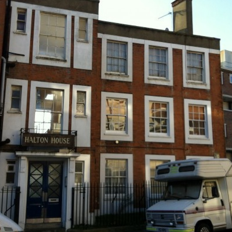 Replacement of sash windows with double glazed sash windows