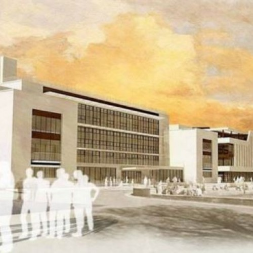 Plans for a student precinct, including a £30 m activity centre.