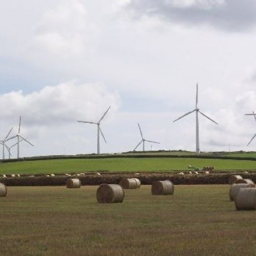 Plans for a £30 million wind farm in North Cornwall.
