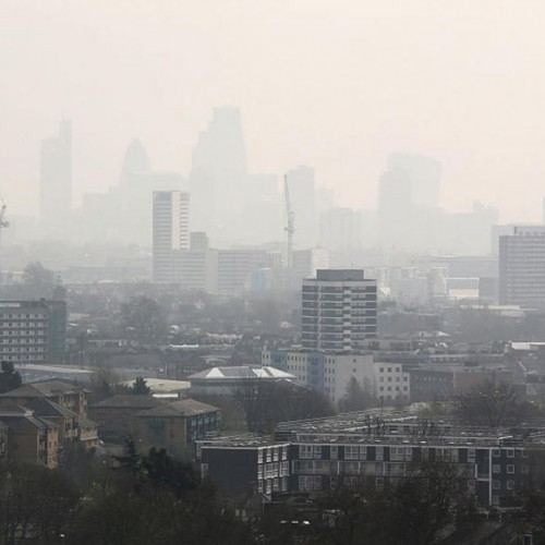 Mayor Sadiq Khan is committed  to clean up the city's toxic air.