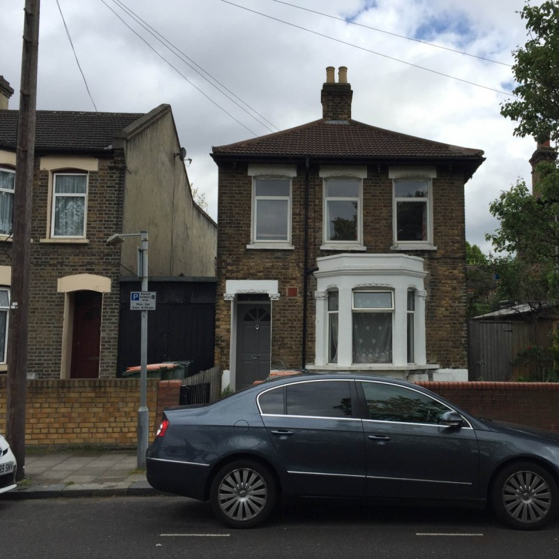 Single storey rear and side return extension to flat - 15 Dacre Road, E13 0PT