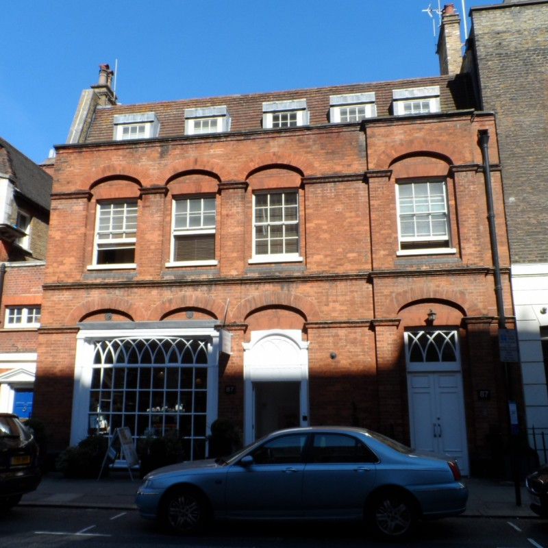 Internal alterations to Grade II listed property in Mayfair