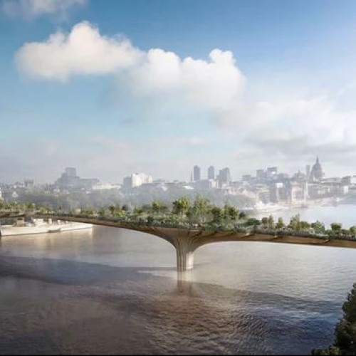 London garden bridge project collapses.