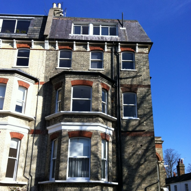 Rooflight replacement, window replacements with Juliette balconies