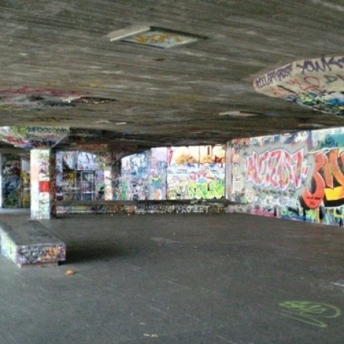 Lambeth Council reconfigure existing Undercroft space Southbank.