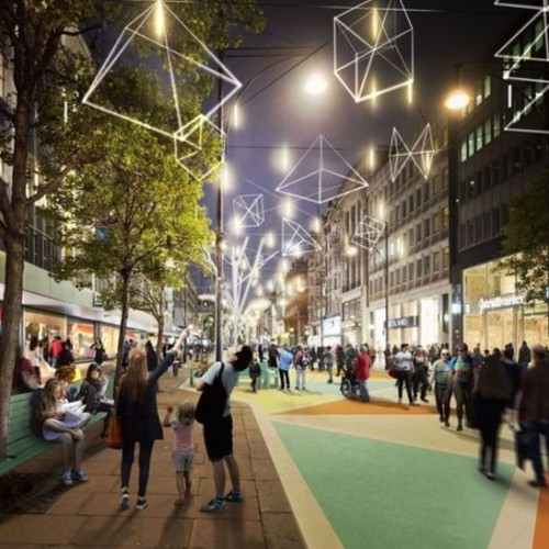 London's Oxford Street could be traffic-free by December 2018.