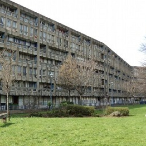 Robin Hood Gardens council estate.