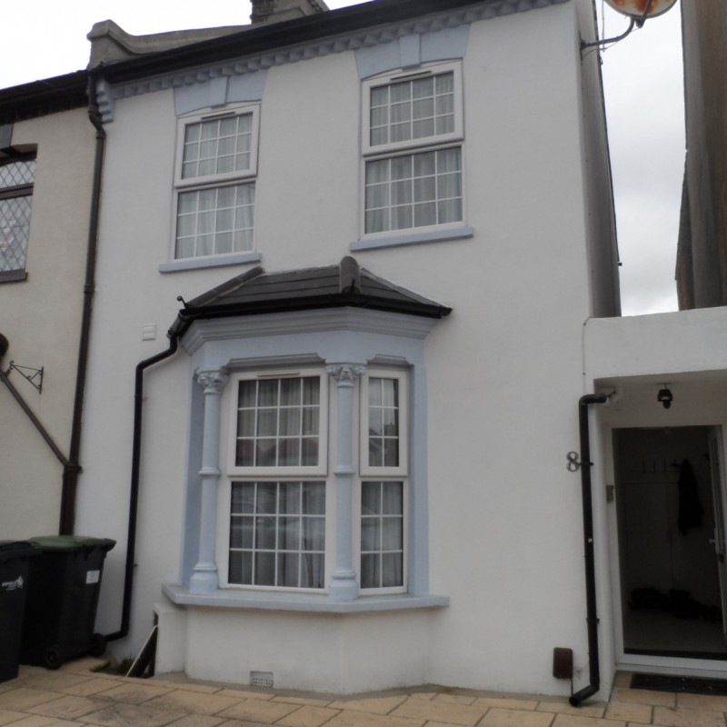 Conversion of single dwelling into 2 flats, appeal and building regulations