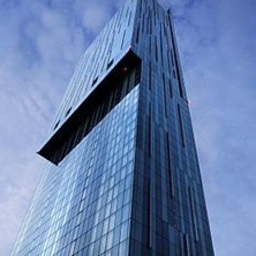 Manchester's Beetham Tower.