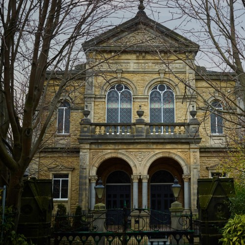 Converted Methodist chapel into a place to live - work