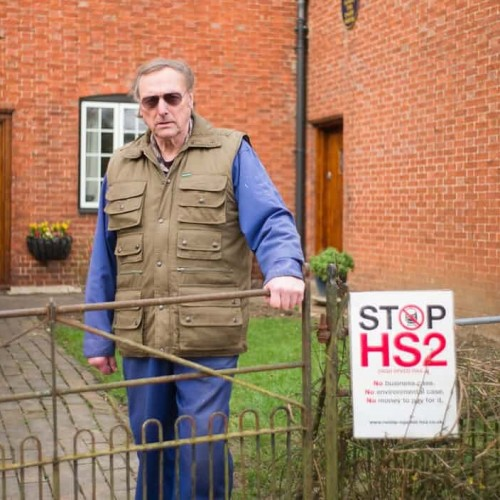 The man who stands to lose his life's work to HS2