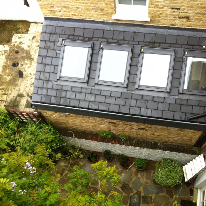 Single-storey side infill extension to the rear of the property