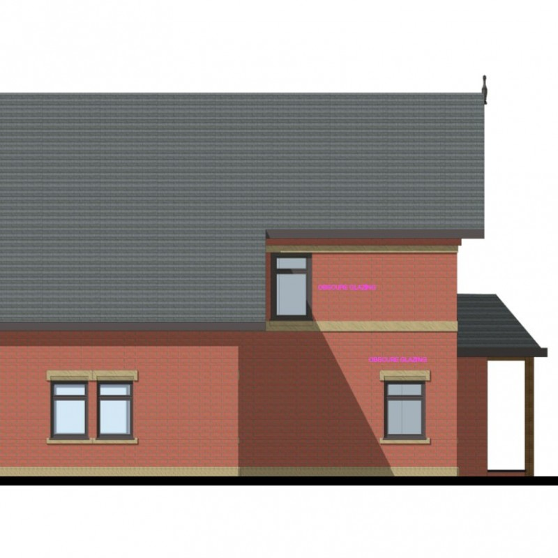 New 3 bedroom house with basement