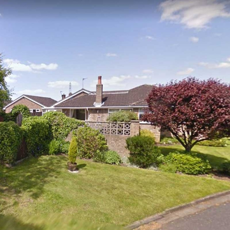 Retrospective permission for change of use of land to form extension to private garden