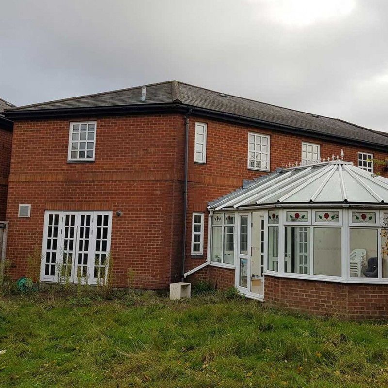 Alterations to roof to create loft with new fenestration