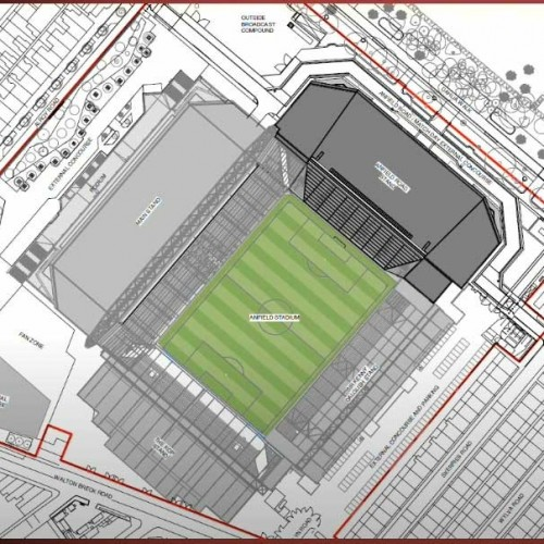 Plans for expansion of Anfield Football Ground approved by Liverpool Council at cost of £60m