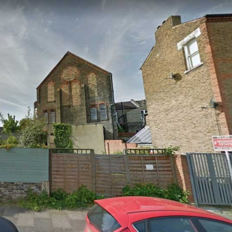New build of two bedroom house on vacant plot